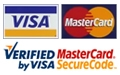 Payment method: Credit cards